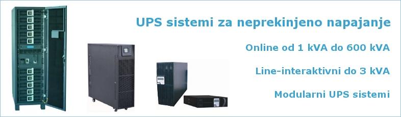 UPS sistemi za neprekinjeno napajanje
