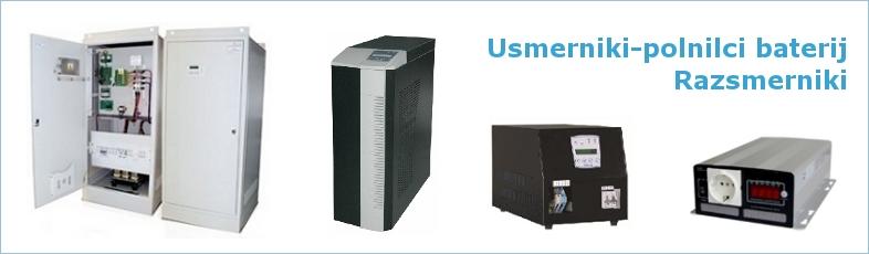 Usmerniki-polnilci baterij in razsmerniki